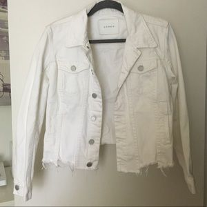 Blank NYC Jackets & Coats - BLANKNYC White Denim Jacket